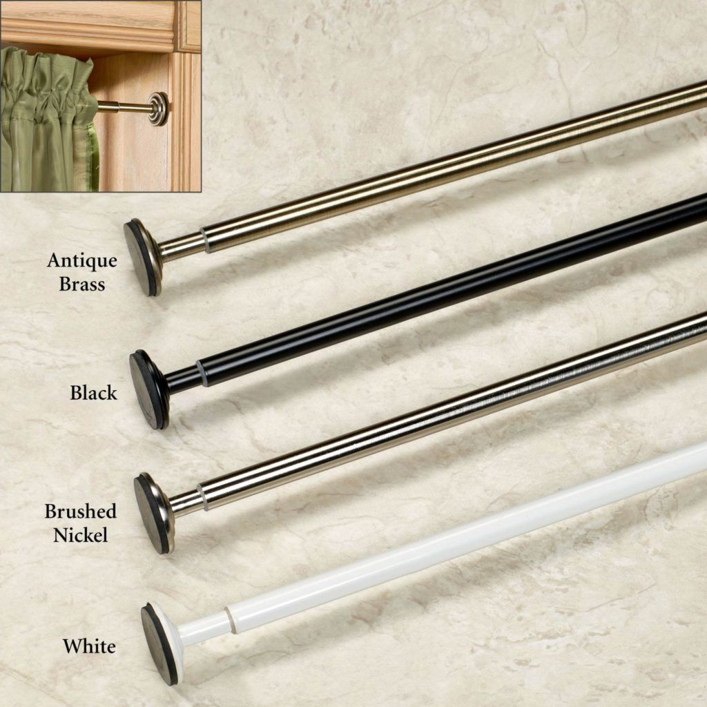 Extra Long Spring Loaded Shower Curtain Rods