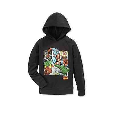 Epic Threads Boys' Marvel Pullover Hoodie Long Sleeve Shirt Size M