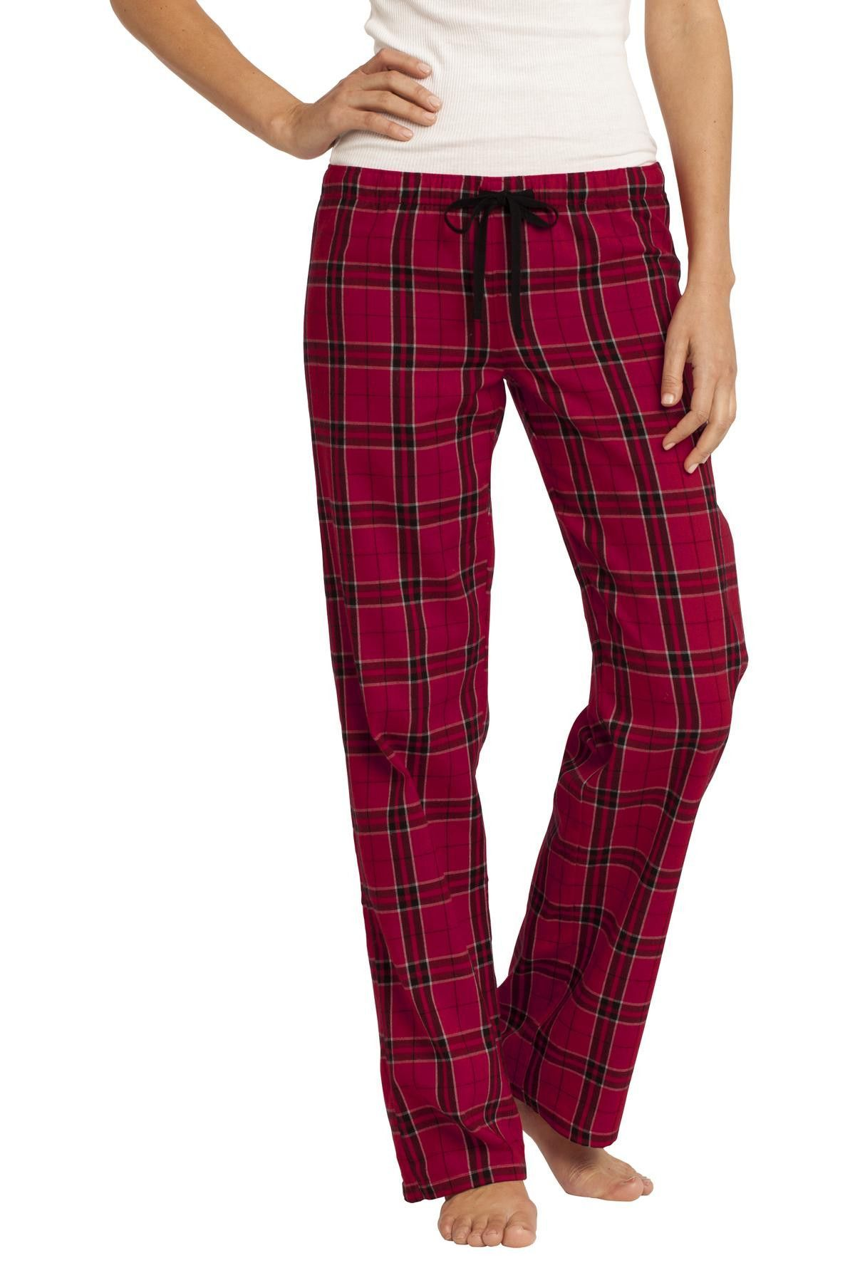 Red flannel around waist  District  Juniors Flannel Plaid Pant DT New Red  Plaid and
