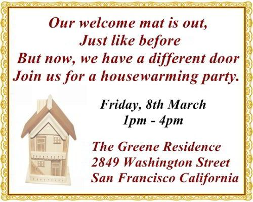 Wedding Gift Ideas For Close Friends: The Most Pleasantly Perfect Housewarming Invitation