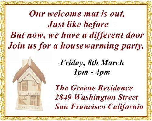 housewarming invitation wording