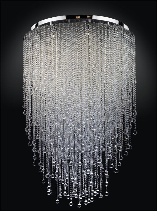 Looks Like Rain Contemporary Crystal Chandelier Luxury Chandelier Crystal Chandelier