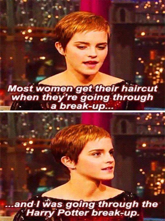 Harry Potter breakup
