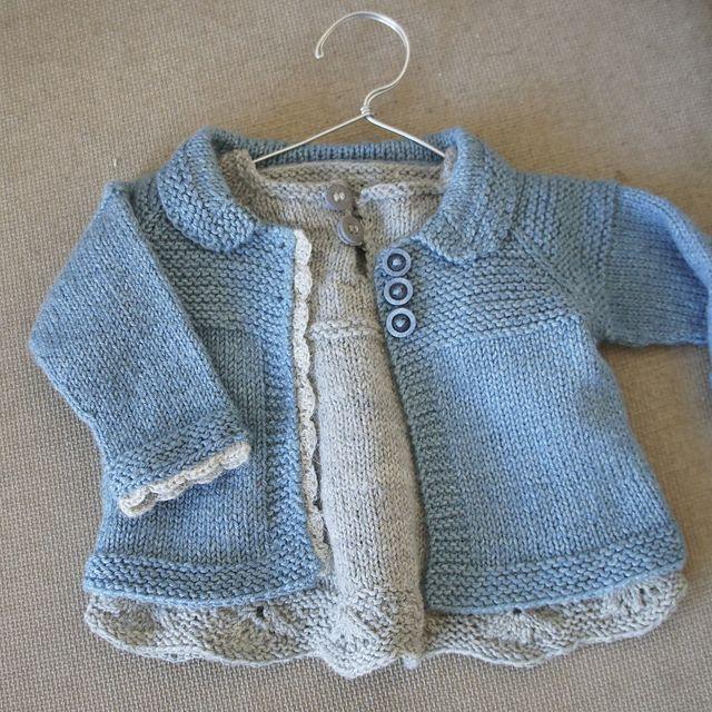 Baby Cardigan Sweater Knitting Patterns | Baby girl jackets, Coat ...