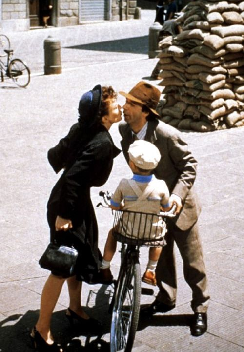 Life Is Beautiful(dir. Roberto Benigni) This movie will stay with you.