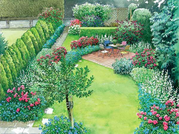 Reihenhausgarten im neuen Gewand Gardens, Garden planning and - reihenhausgarten vorher nachher