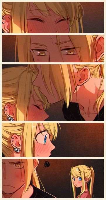 Illustrations Discover Ed and winry Anime Couples Manga Cute Anime Couples Manga Anime Anime Love Couple Manga Couple Fullmetal Alchemist Brotherhood Animation Deku Anime Ed And Winry