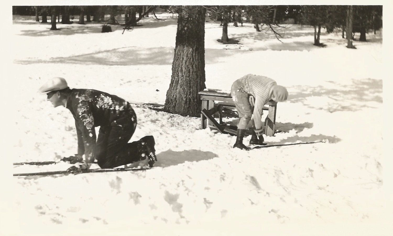 "Vintage Snapshot ""Downhill Racer"" Man Skis On All Fours Skiers Skis Winter Snow Found Vernacular Photo by SunshineVintagePhoto on Etsy https://www.etsy.com/listing/509032789/vintage-snapshot-downhill-racer-man-skis"