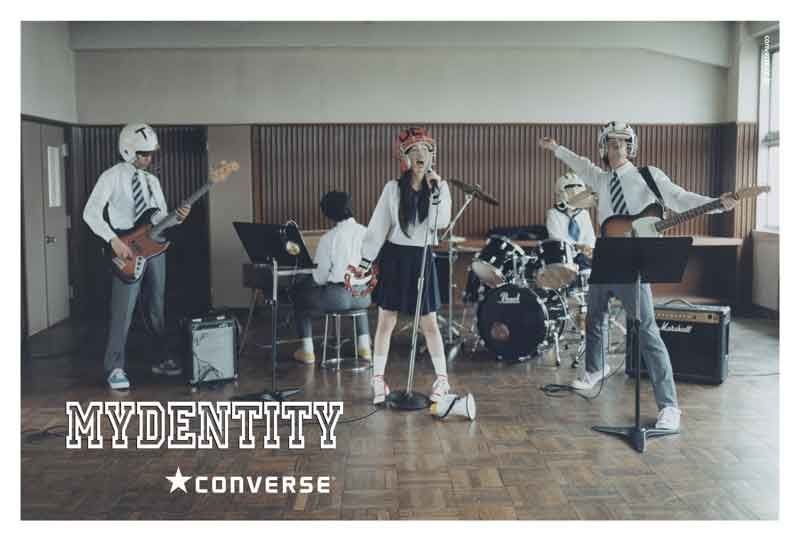 CONVERSE「MYDENTITY」2009FALL&WINTER | WORKS | デキスギ D.K.S.G.  #converse #maydentity #direction #design #shooting #movie #boy #girl #sneaker #kicks #advertisement #print #web #sorepromotiontool #dekisugi #japanese #Highschool #postcard #summer #vacation #rock #band