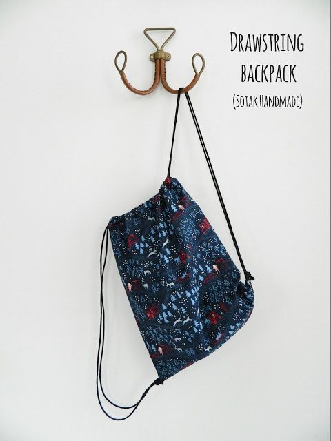 Drawstring Backpack A Free Tutorial Tips And Tutorials