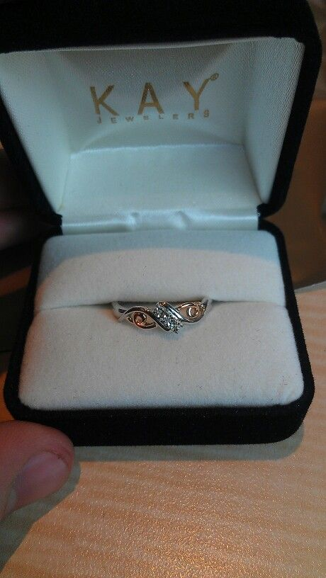 The Promise Ring For My Beautiful Girlfriend For Our One Year Anniversary Happy One Year My Love 3 1 24 13 Forever And Always