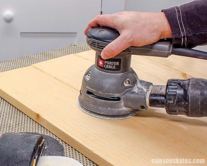 Best Sanding Is The First Step To Preparing Wood For Paint Or 400 x 300
