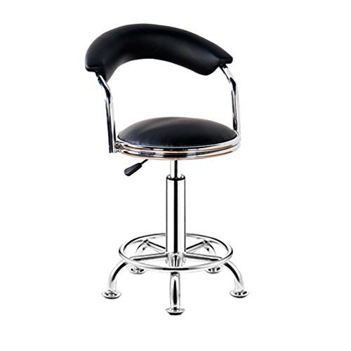 Nice Bar Stools Bar Chair Rotating Lift Backrest Chair High Stools Home Creative Beauty Round Stool Stylish Minimalist Swivel Chair Furniture Bar Furniture
