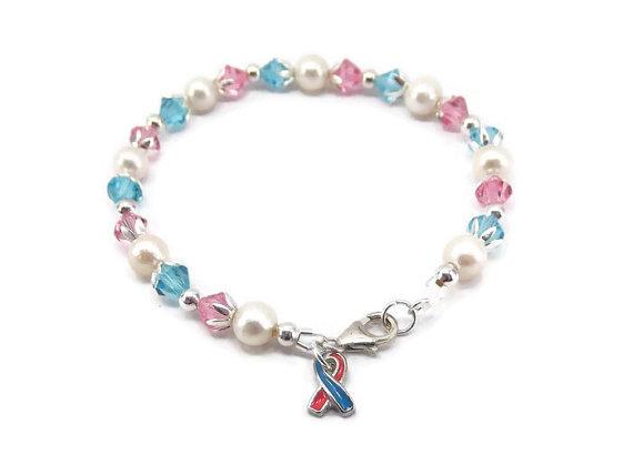 Miscarriage Bracelet Infant Loss Jewelry Baby Memorial Bracel