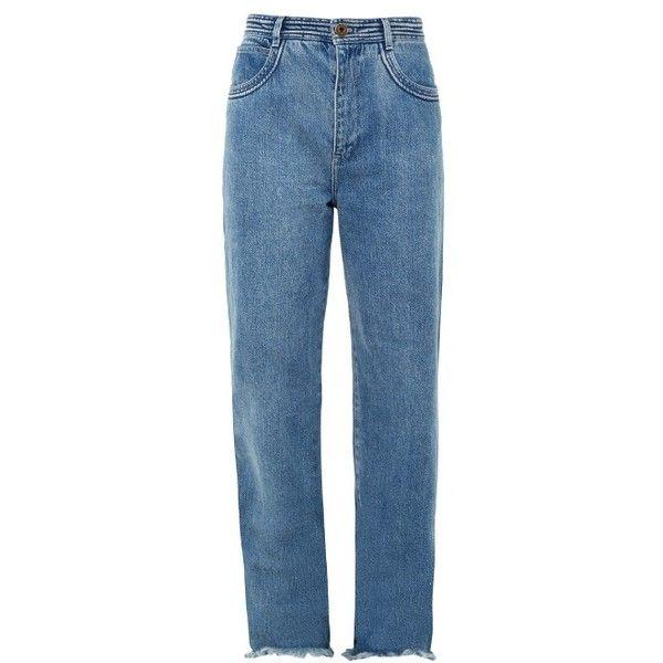 Chloé Frayed wide-leg jeans ueq2WmM5v