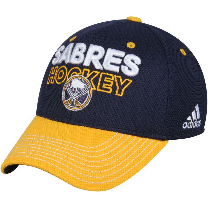 info for 2c0e8 8c7ef Buffalo Sabres adidas Locker Room Flex Hat - Navy