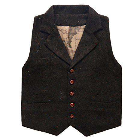 Eshinny Unisex Baby Fleece Hooded Jacket Outerwear Duffle Zipper Winter Coat