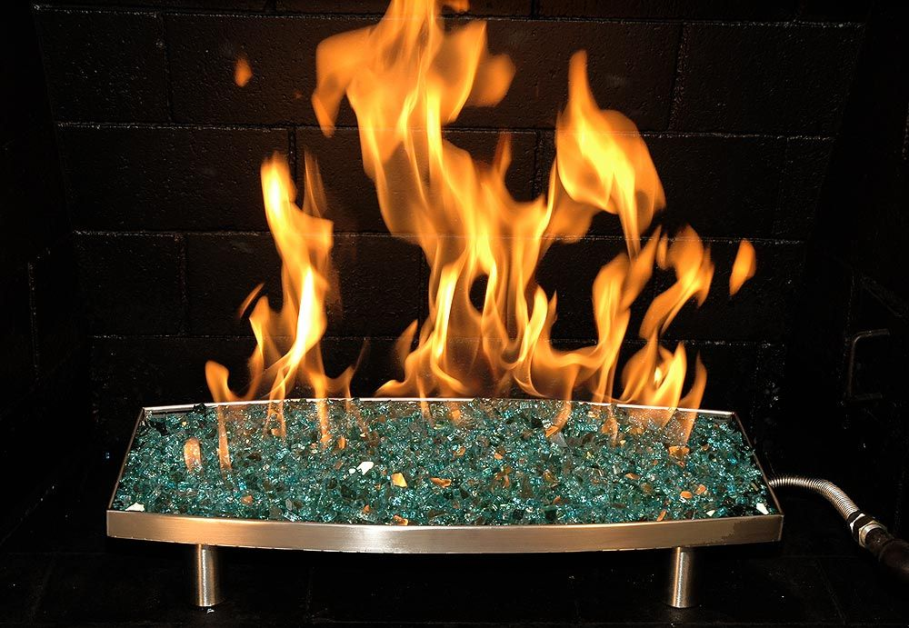 Fireplace glass | Home | Pinterest | Turquoise, Fireplaces and Glasses