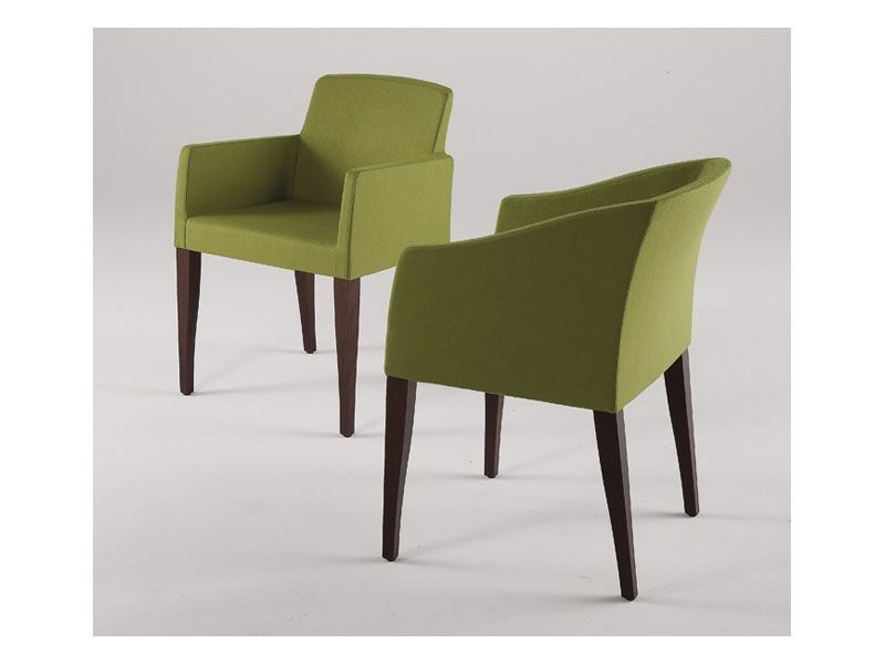 Green Upholstered Dining Chairs With Arms Furniture