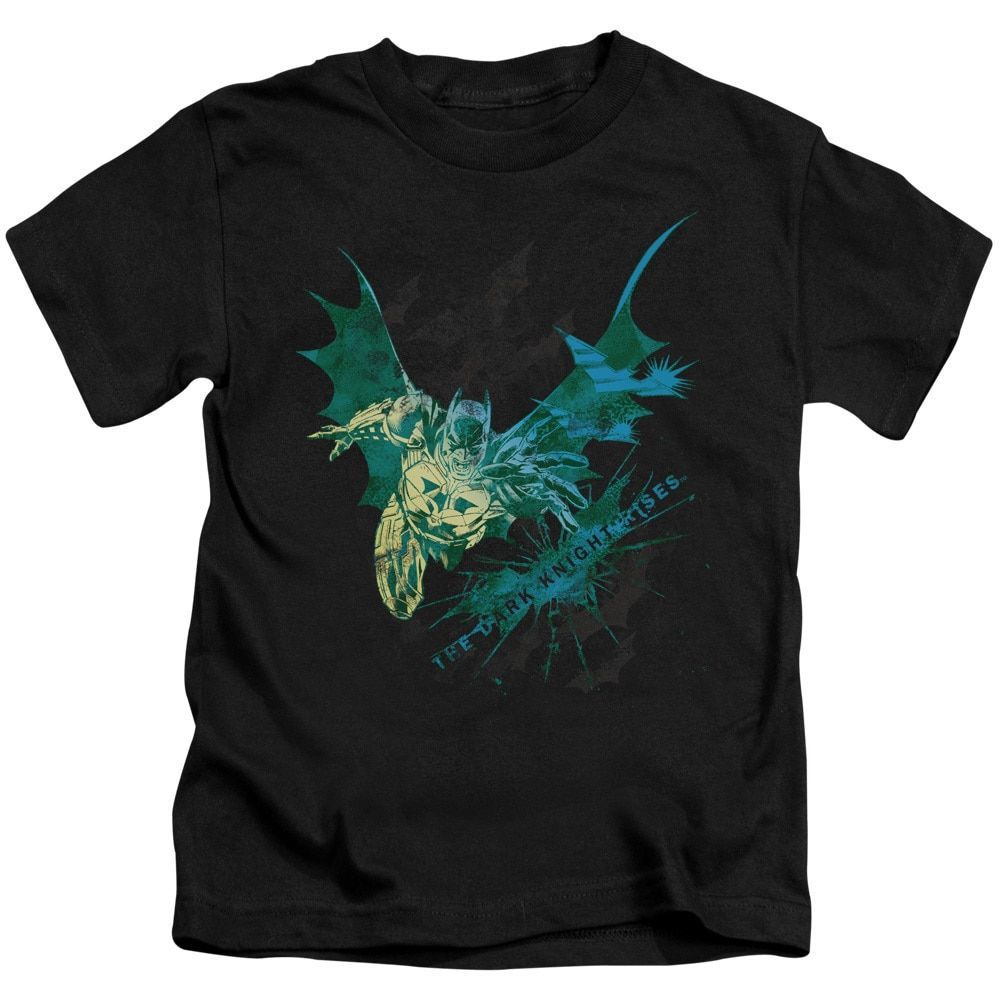 Dark Knight Rises/Batarang Short Sleeve Juvenile T-Shirt in