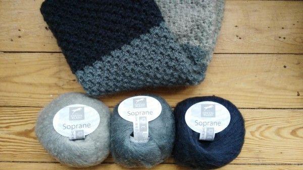 Snood simple au point étoile, sortez vos crochets   tricot modèles ...