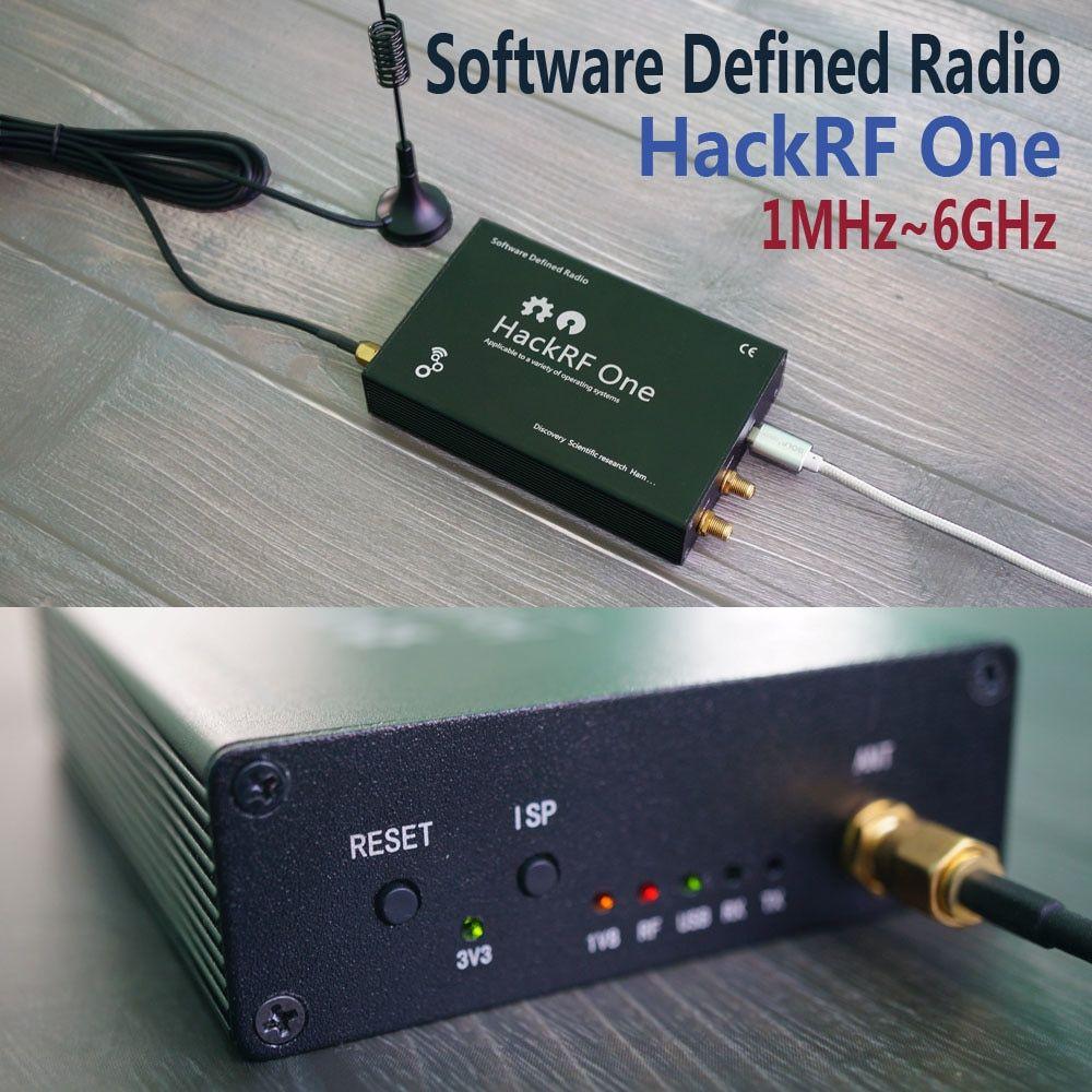 HackRF One usb platform reception of signals RTL SDR