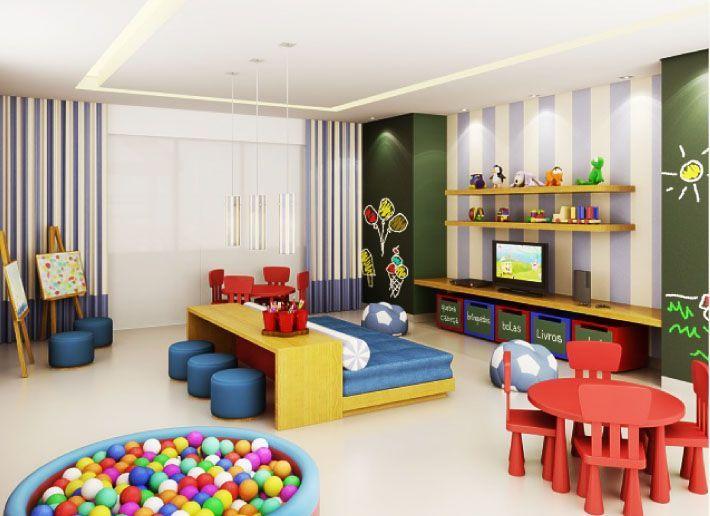 Distribución sala de juegos | habitación infantil | Sala de juegos ...