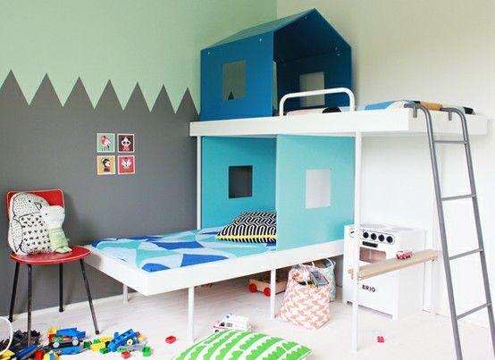 top 5 best colorful kids rooms | kids rule | pinterest | bunk bed