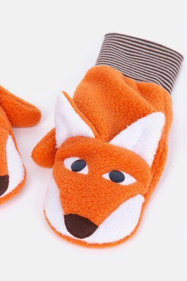 Schnittmuster kostenlos Fuchshandschuhe mit Nähanleitung #gloves