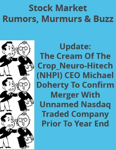 Pin by Rumor, Murmurs & Buzz on Stock Market Rumors ...