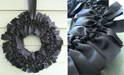 Ribbon wreaths - pick a colour!
