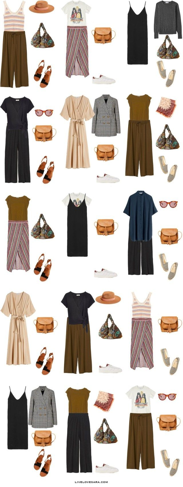 What to Pack for The South of France - Packing Light #travelwardrobesummer