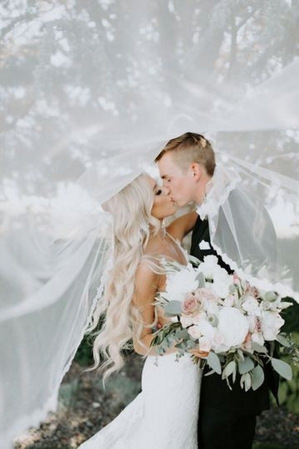 20 Romantic Wedding Photo Ideas With Your Groom