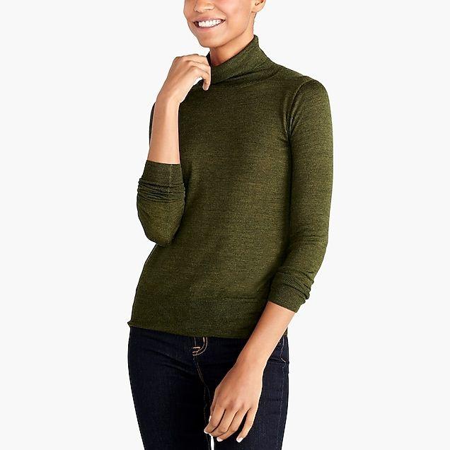 76e045715b merino wool turtleneck sweater   factorywomen sweaters