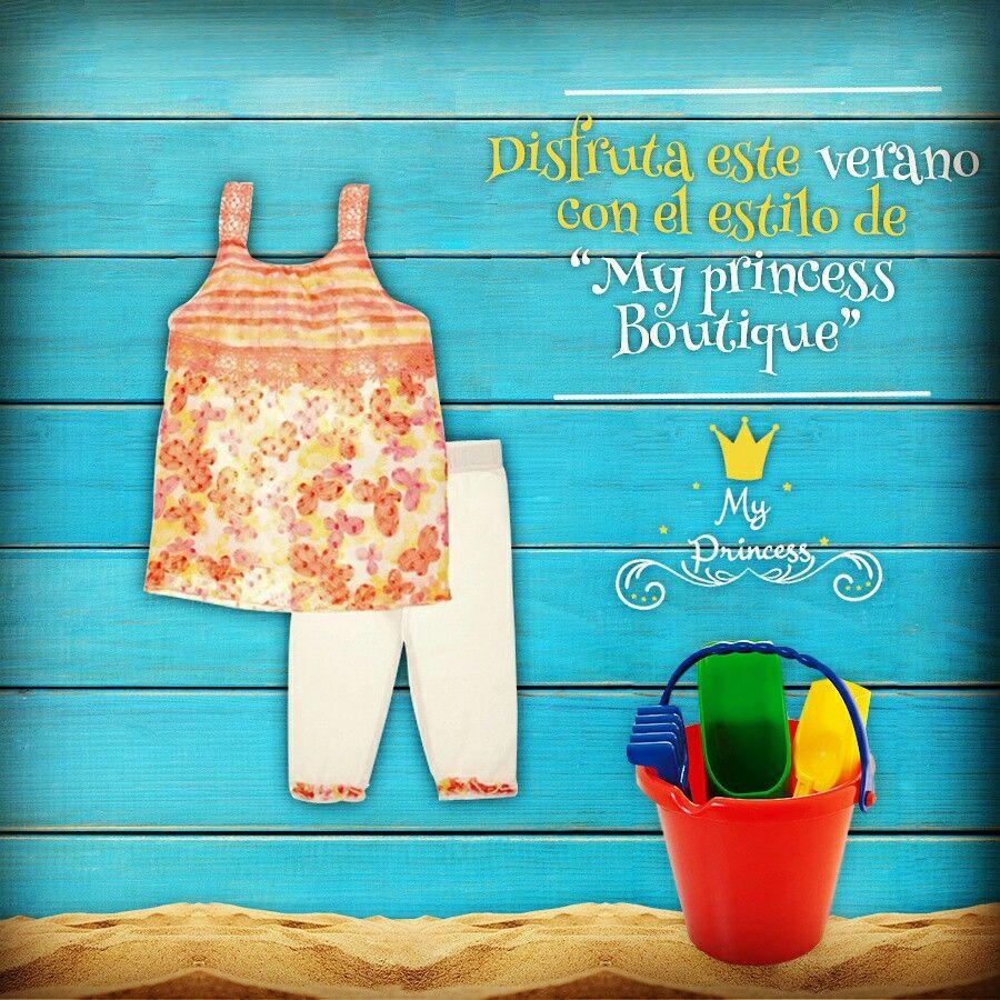 Ahora ropa para todos los días, a tu princesita le encantará !!  Ven a conocer nuestra nueva colección de verano  Poupin 1064 Local 4 - Bolevard María Betania  www.myprincess.cl