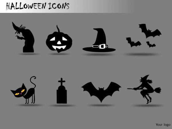 Halloween Graphics PowerPoint Clipart Slides - PowerPoint Diagram ...