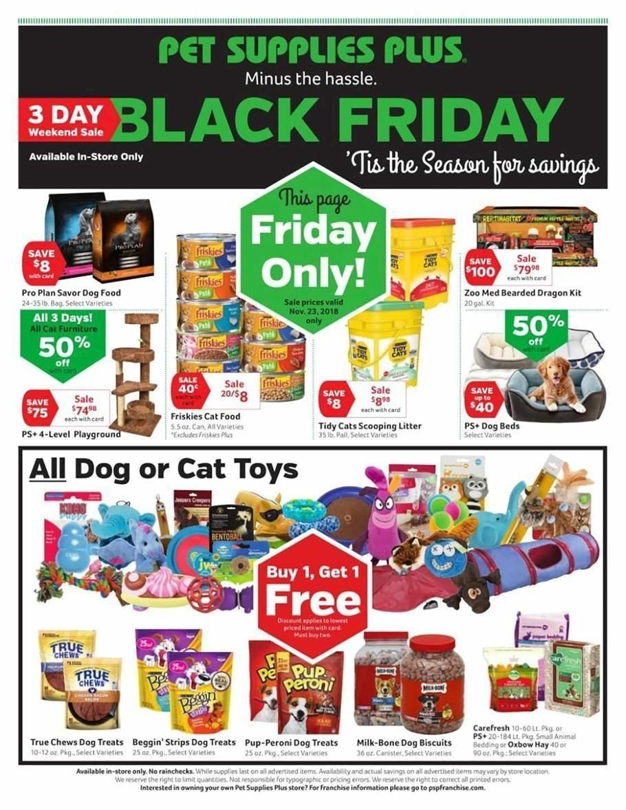 Pet Supplies Plus 2020 Black Friday Ad Pet Supplies Plus Pet Supplies Online Pet Supplies