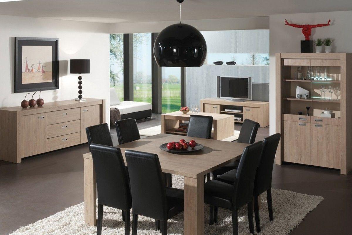 Salle A Manger Moderne A Table Carre Design Dining Room