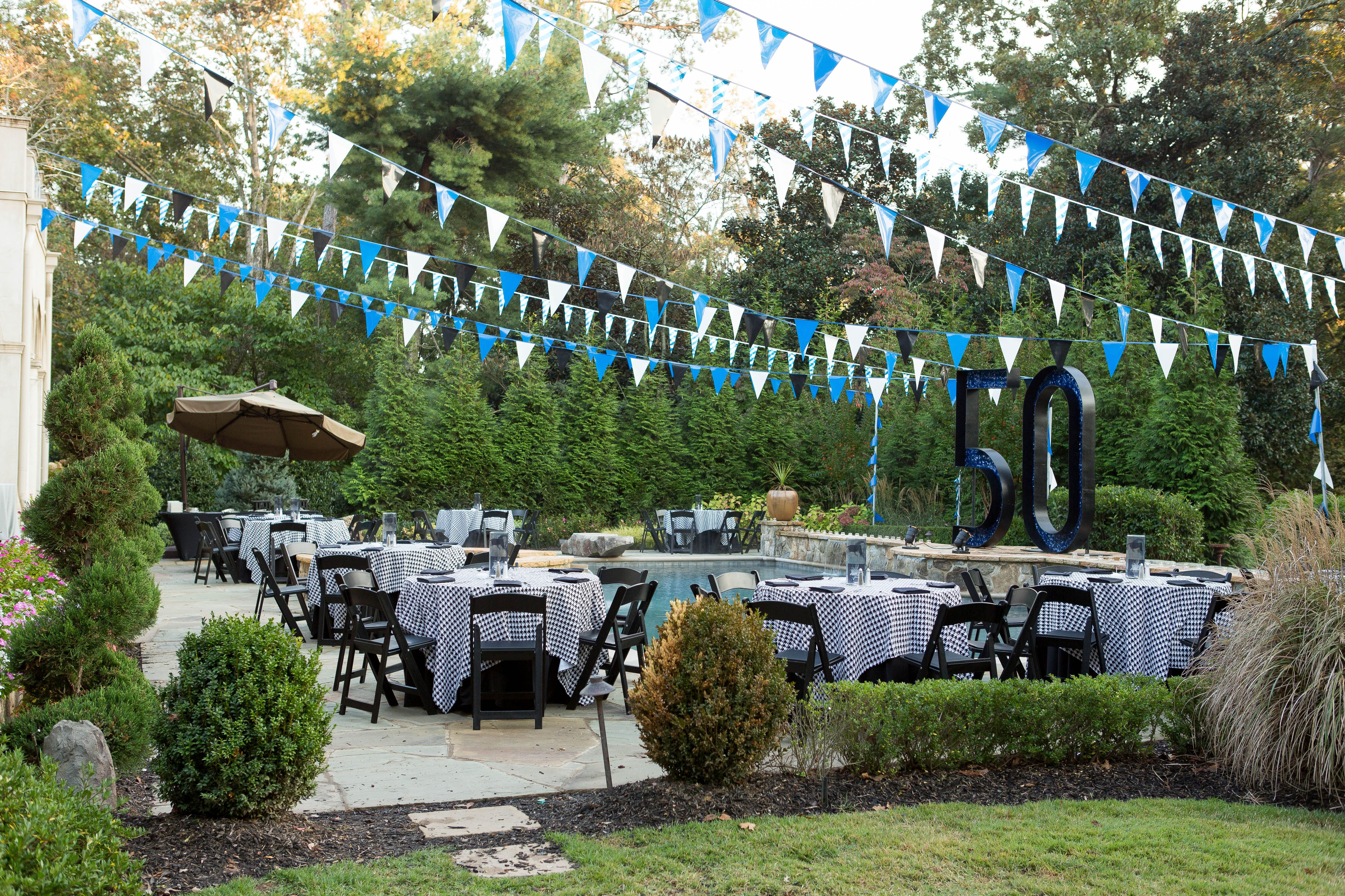 Mad Men Inspired 50th Birthday By The Party Girl Events Birthday