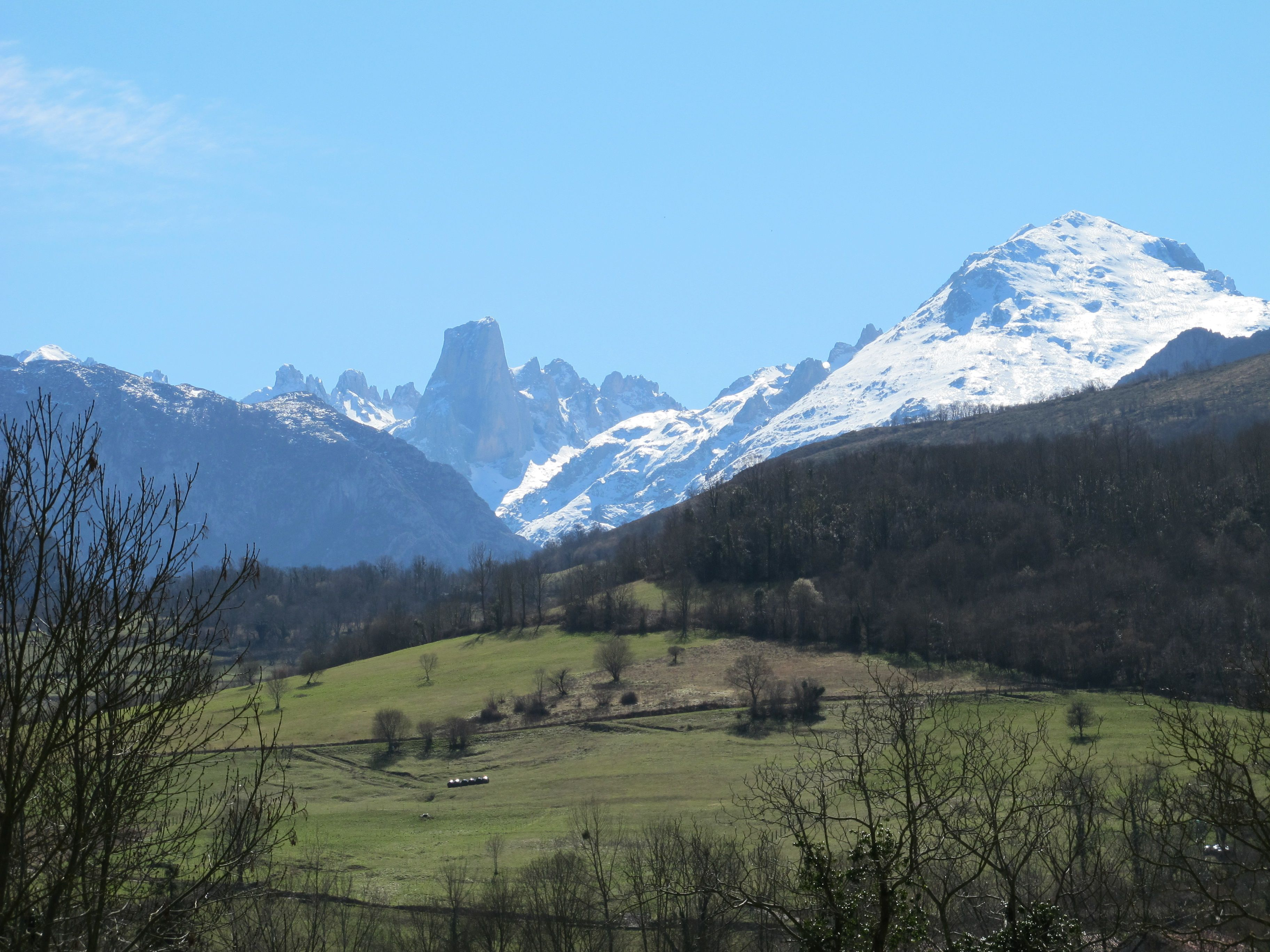 View Picos de Europa from La montaña mágica, Asturias.