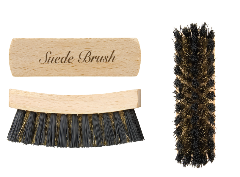 Suede brush #elliottclean with brass fibres for a deep clean