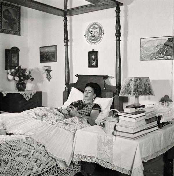Os últimos anos de Frida Kahlo em fotografias