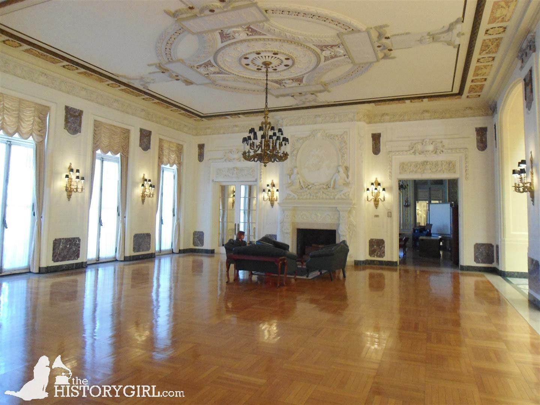 1st Floor Great Hall Of Woodrow Wilson Hall Shadow Lawn At