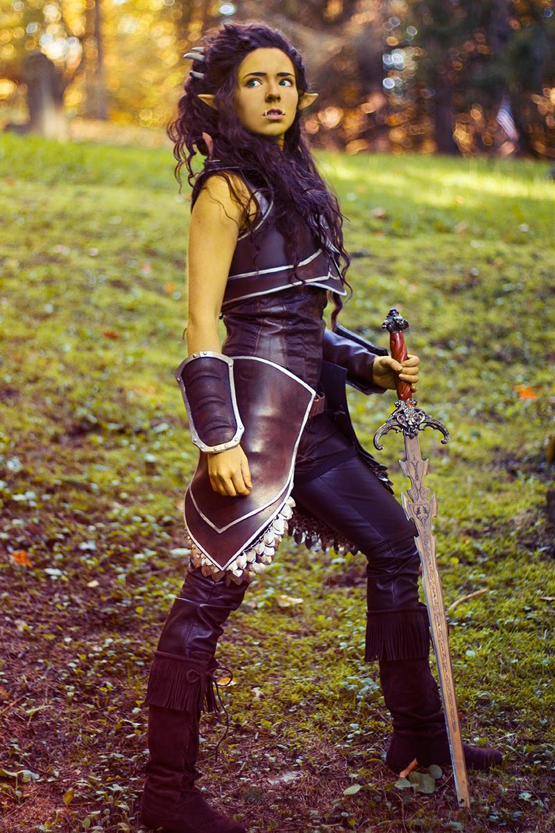 Garona Warcraft Movie Cosplay Casual Cosplay Warcraft Movie