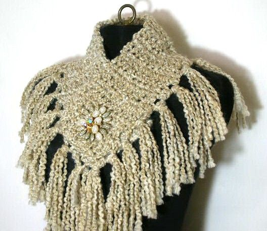 The Fringe Scarflette Crochet Pattern Pdf Permission To Sell What
