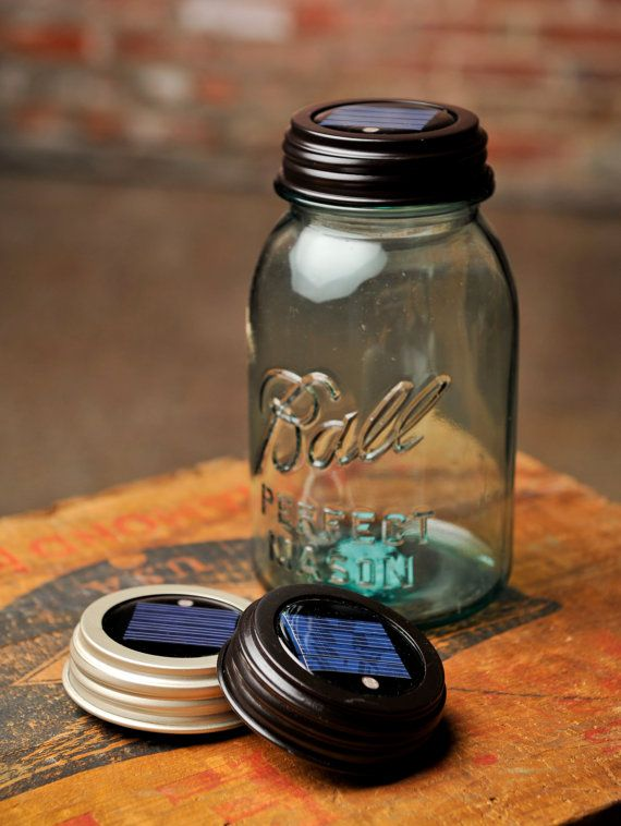 Make Your Own Mason Jar Solar Light by sweetteaclothingco on Etsy
