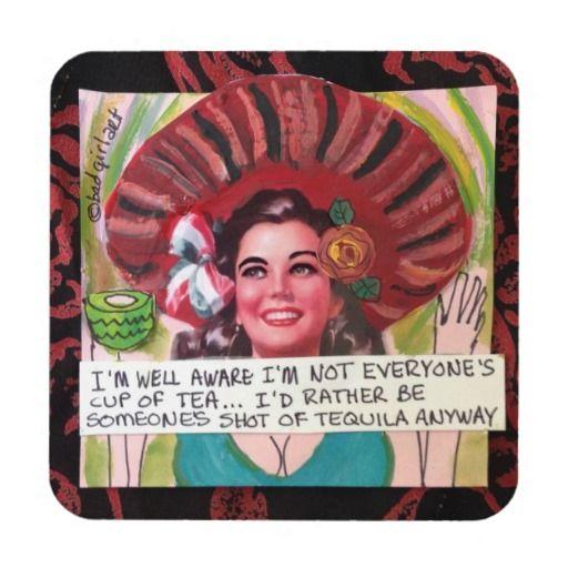 Tea Drink & Beverage Coasters | Zazzle