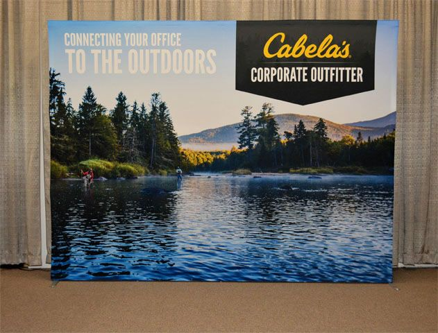 Cabela S New Star Fabric Trade Show Display Trade Show Display Pop Up Outdoor