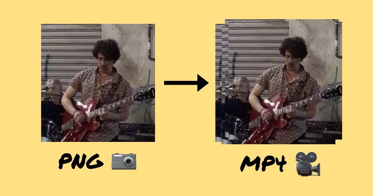 How to Convert a PNG to an MP4 using a free online tool