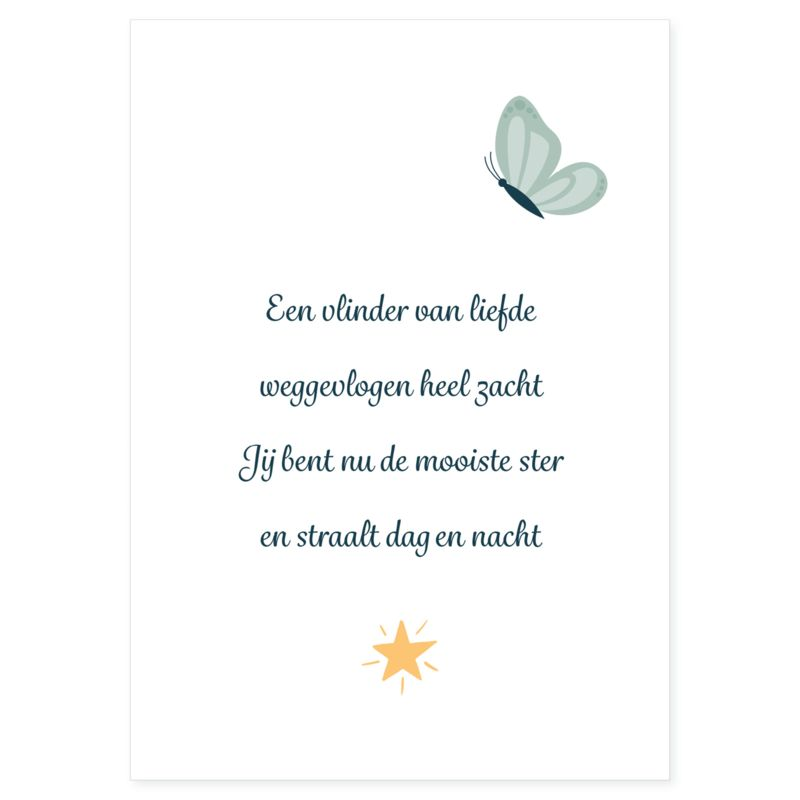 Poster Vlinder Groen Citaten Gedichten Over Liefde En